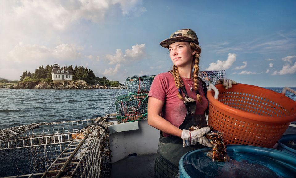 Sadie Samuels is a Lobster Fisher fromRockport,