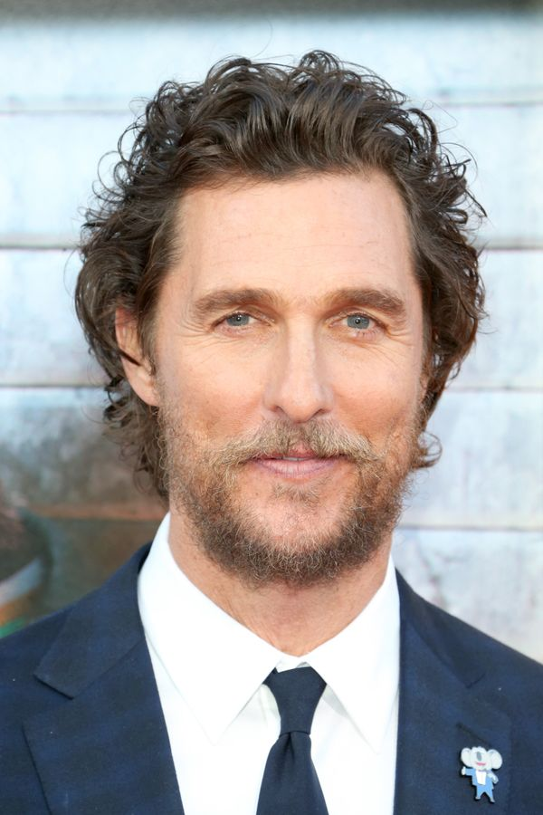 Actor Matthew McConaughey
