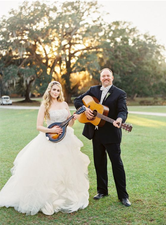 "John Carter Cash and Ana Cristina said their ""I dos"" in South Carolina on Oct. 29."
