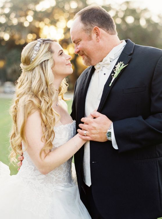 "Ashley said the bride and groom were ""a complete joy"" to work with."