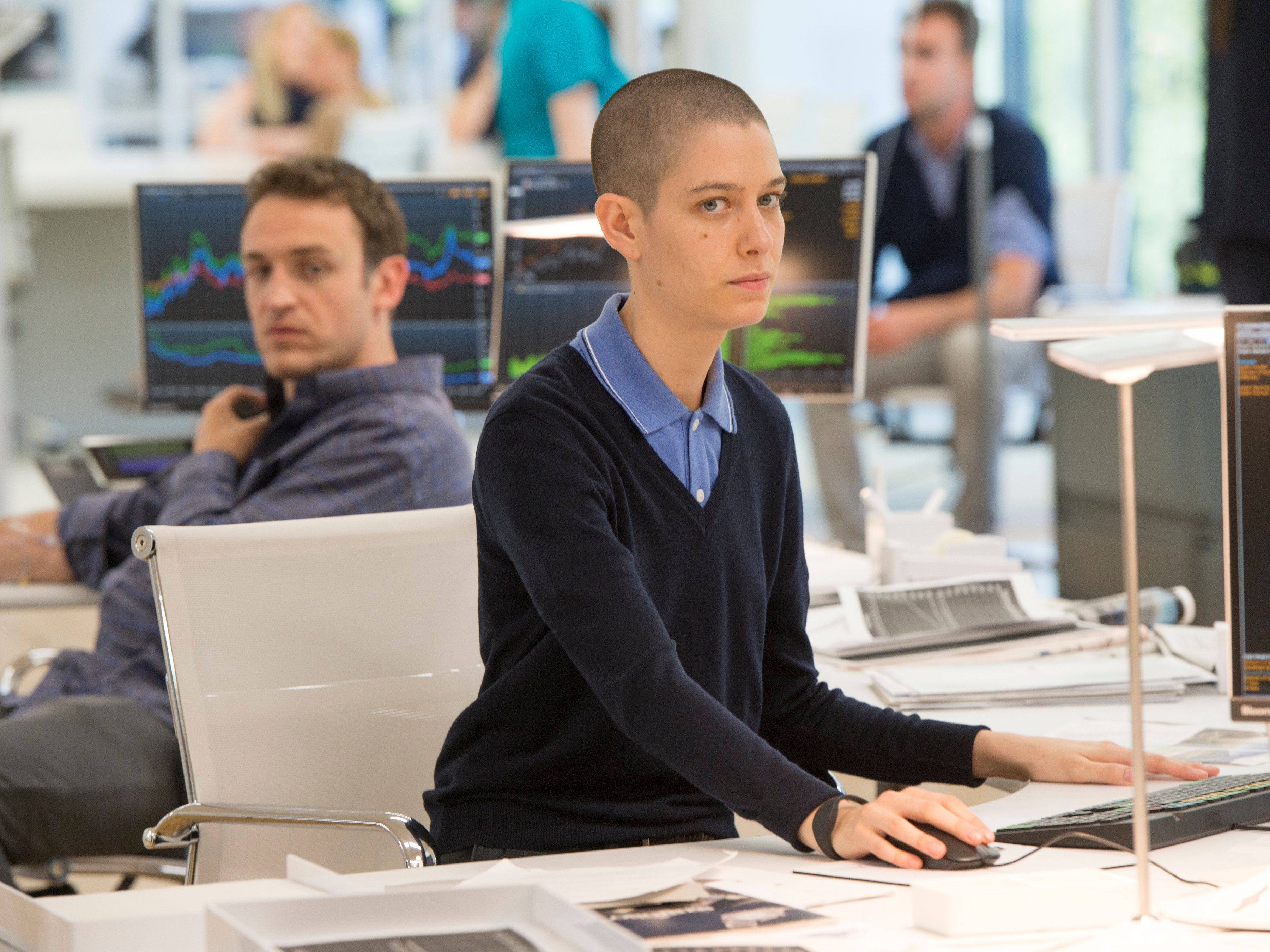 """Asia Kate Dillon joins the cast of Showtime's """"Billions"""" in its second season."""
