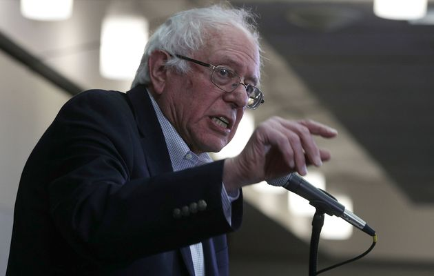 Sen. Bernie Sanders, a self-described democratic socialist, opposed bailing out the big