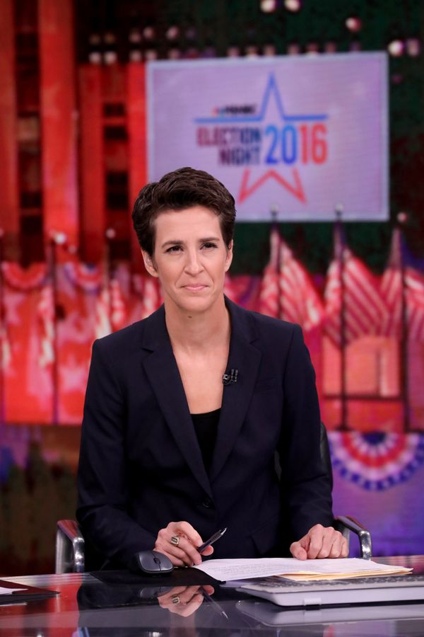 TV host Rachel Maddow