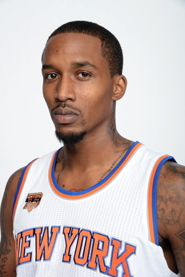 New York Knicks player Brandon Jennings