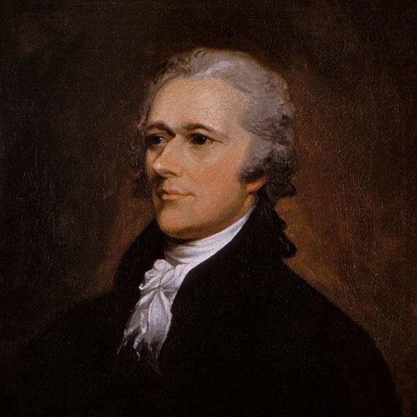 Alexander Hamilton portrait by John Trumbull, 1806