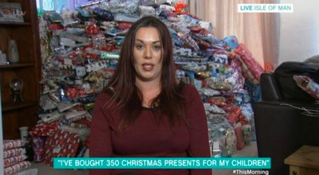 Mum Who Spends More Than £1,500 On 350 Christmas Presents For Her Kids Hits Back At Her
