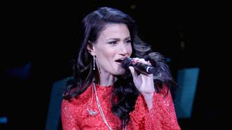 NEW YORK, NY - DECEMBER 14:  Idina Menzel performs onstage during The Revlon Concert for the Rainforest Fund 'Baby It's Cold Outside' at Carnegie Hall on December 14, 2016 in New York City.  (Photo by Kevin Kane/Getty Images for The Rainforest Fund)