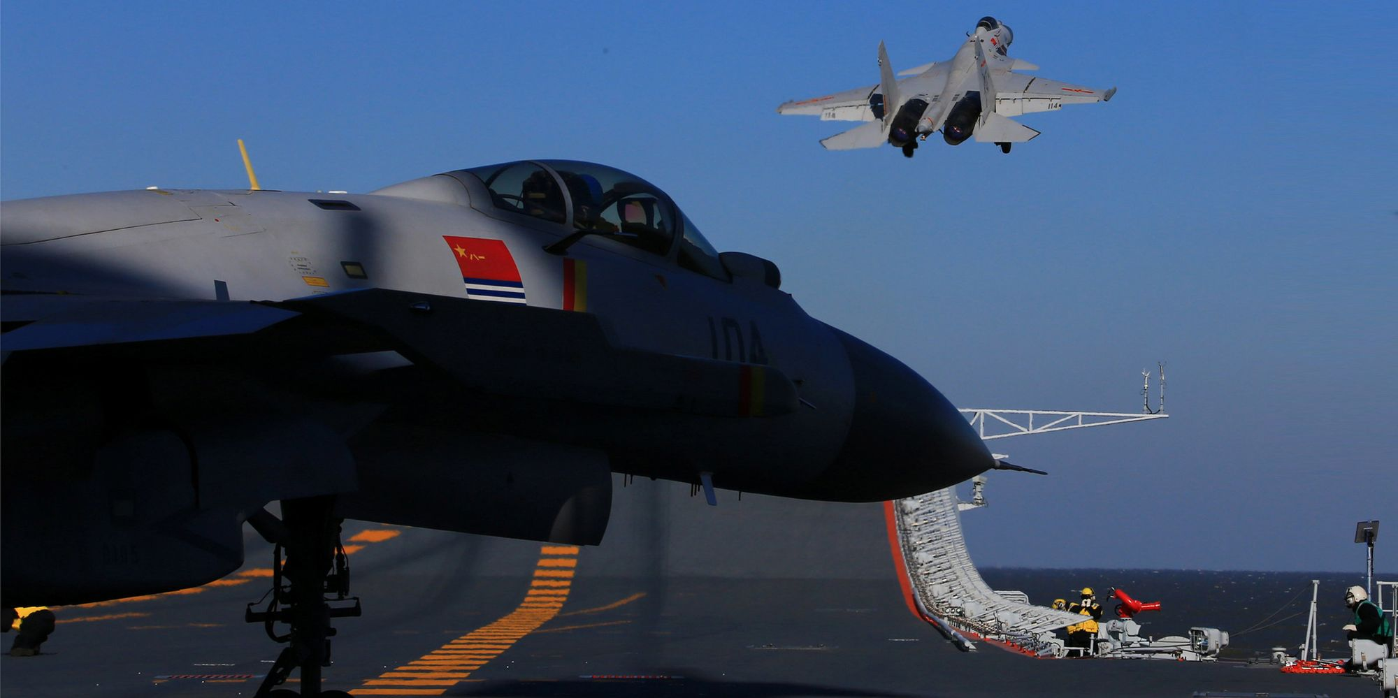 China Holds First Live-Fire Drills With Aircraft Carrier ...