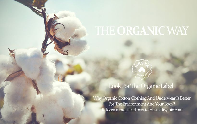 Cotton is better for both your body and the environment