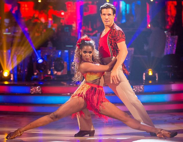 Danny Mac and Oti Mabuse on 'Strictly Come