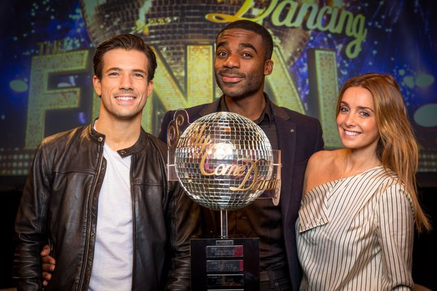 Danny is taking on Ore Oduba and Louise Redknapp in the