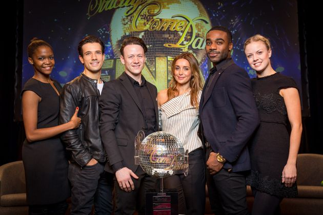 Danny is going up against Louise Redknapp and Ore Oduba in Saturday's