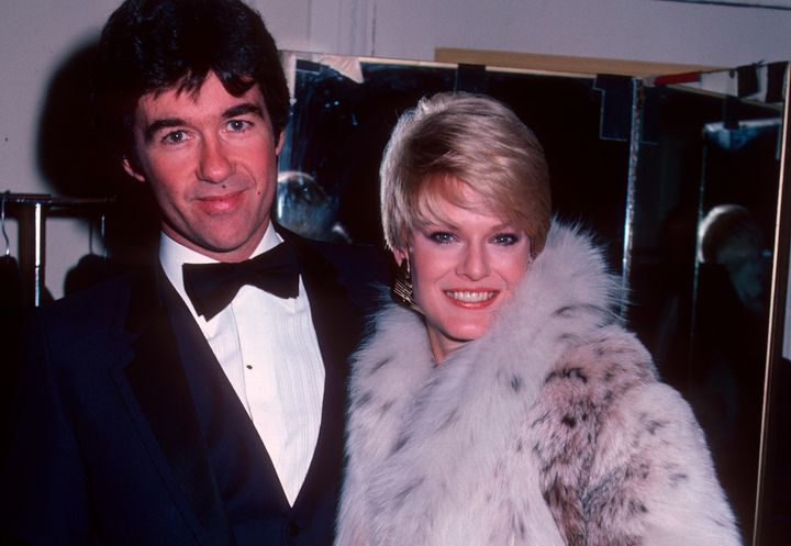 Alan Thicke and Gloria Loring in 1982.