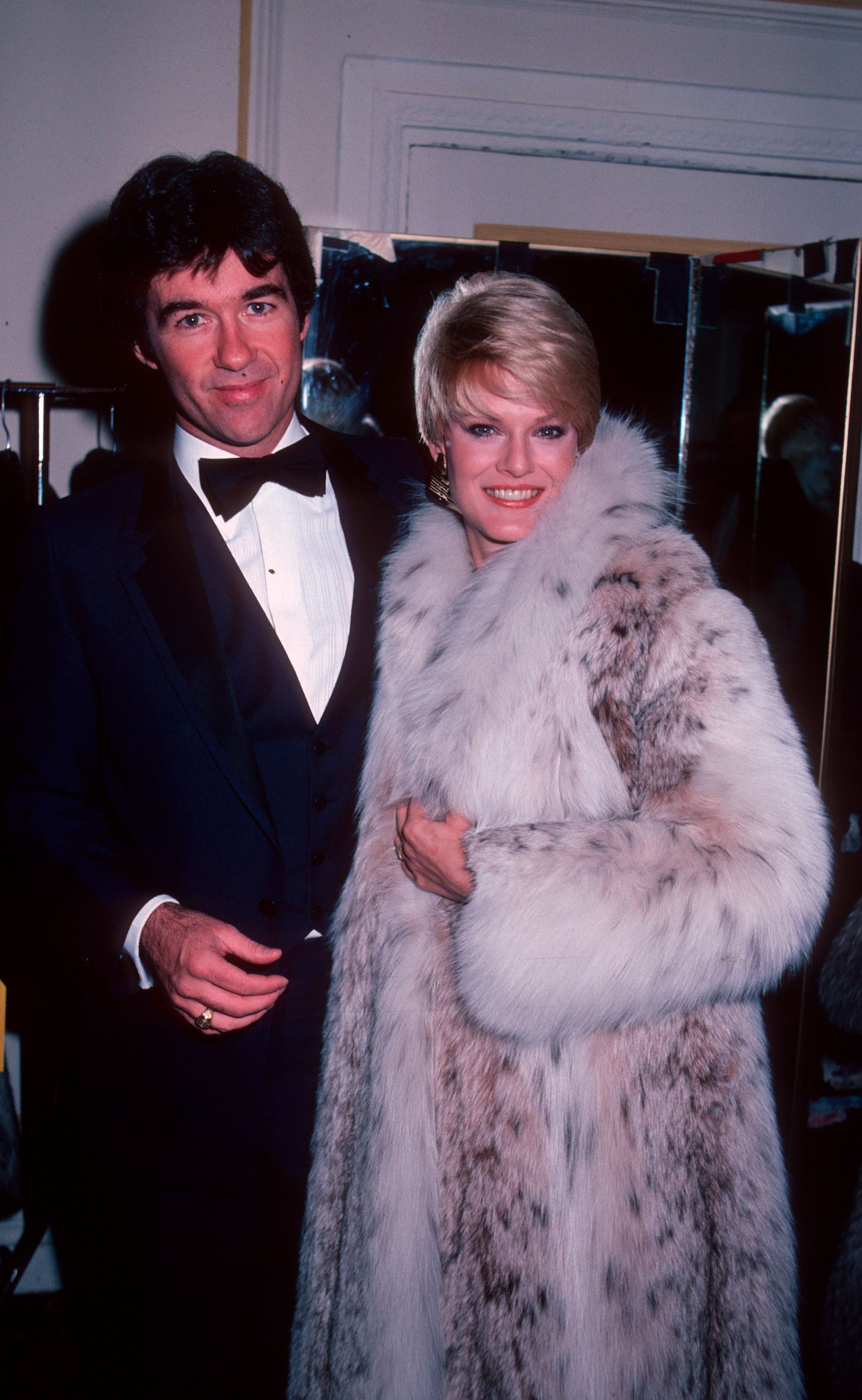 NEW YORK CITY - NOVEMBER 11:  Actor Alan Thicke and wife Gloria Loring attending 10th Annual Promise Ball on November 11, 1982 at the Pierre Hotel in New York City, New York. (Photo by Ron Galella/WireImage)