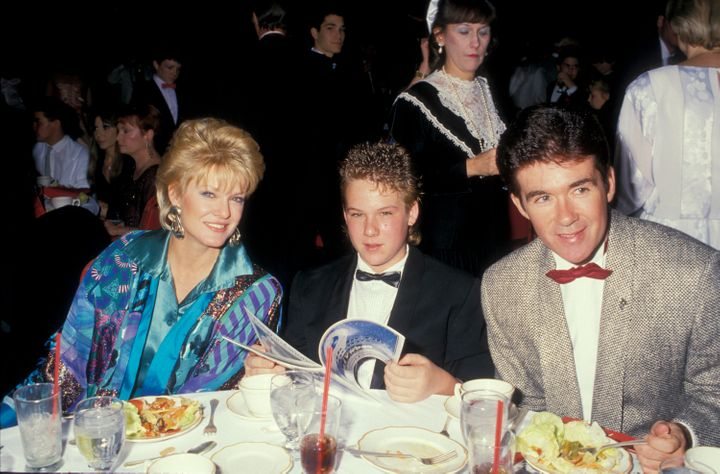 Gloria Loring with Alan Thicke and their oldest son Brennan.
