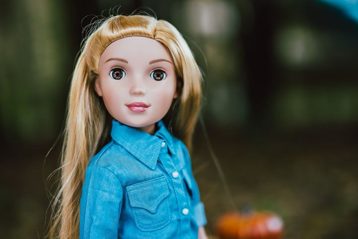 """Woodward set out to make realistic looking dolls who were """"smart, ambitious, positive role models."""""""