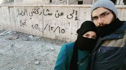 'We Will Return': Syrian Newlyweds Fleeing Aleppo Leave Behind Messages Of