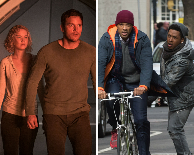 """""""Passengers"""" and """"Collateral Beauty"""" aren't a great end to"""