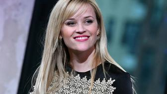 NEW YORK, NY - DECEMBER 16:  Reese Witherspoon visits AOL BUILD to discuss 'Sing' at AOL HQ on December 16, 2016 in New York City.  (Photo by Slaven Vlasic/Getty Images)