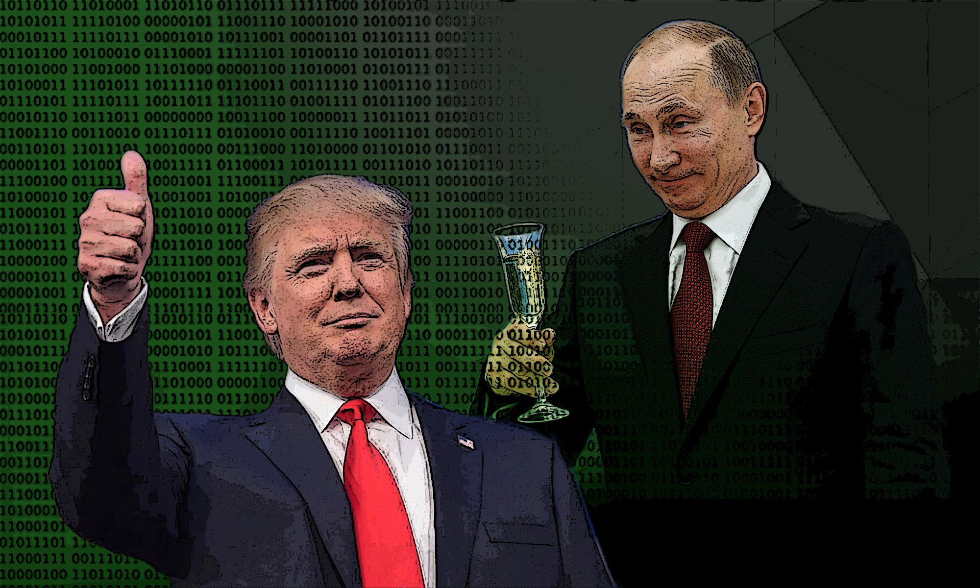 There is increasing evidence that Putin's Russia had a role in electing Donald