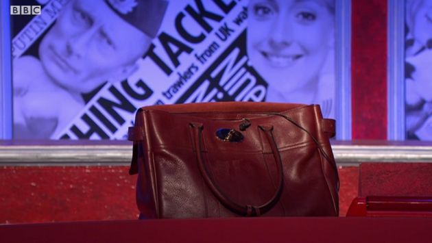 Have I Got News For You Replaces Nicky Morgan With £1,000 Leather Handbag Amid