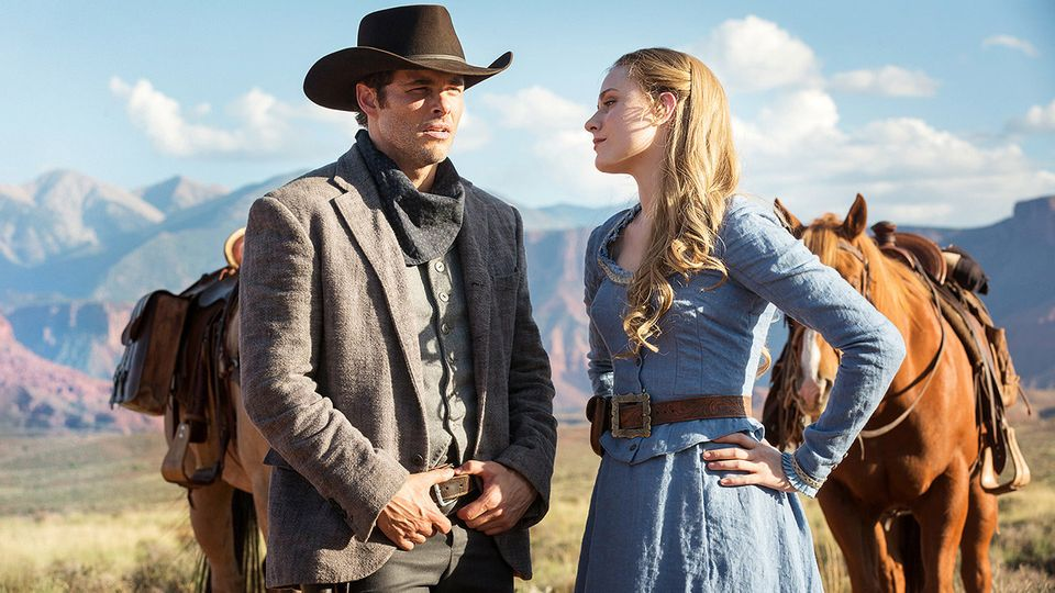 """A criticism of """"Westworld"""" could be that it's just """"Jurassic Park"""" with robots. It is. But what"""