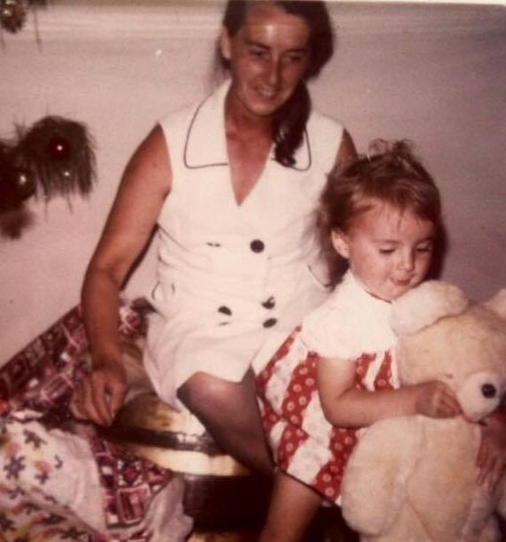 Me, my Babcia and my bear. My Guardian Angel forever. Merry Christmas, I love you always.