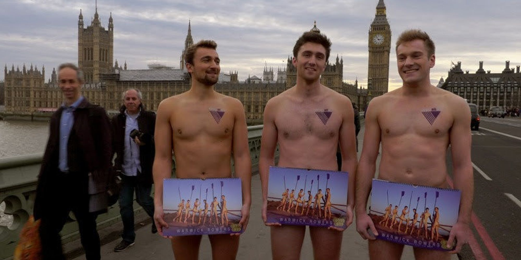The Warwick Rowers Have A Cheeky Message For Donald Trump