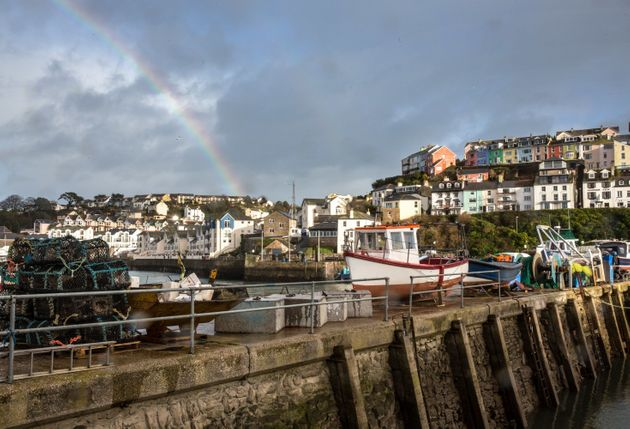 The beautiful port town of Brixham, Devon, voted overwhelmingly for Brexit in