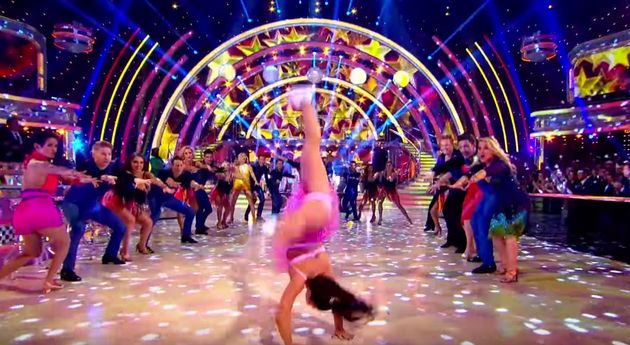 Claudia Fragapane and the stars of