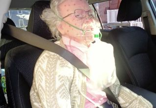 Concerned passersby in Hudson, New York, called police after spotting this mannequin inside a car -- which they thought was a