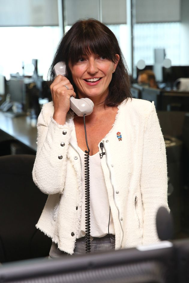 Davina McCall (on the phone to someone who is not Alan