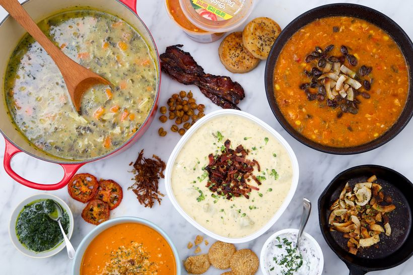 ten ways to personalize prepared soups from the supermarket huffpost