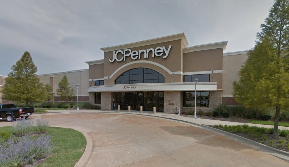 The childs grandmother pulled into this JC Penney stores parking lot where she realized her grandson had been shot police said