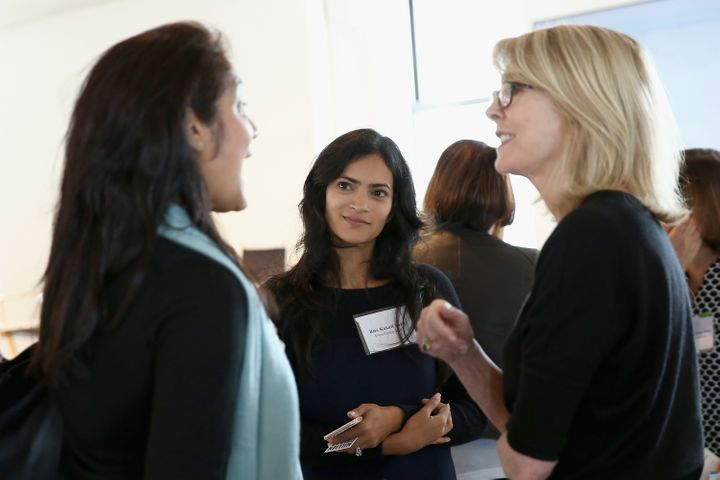 Susan Lyne of BBG Ventures meets with Female Founders at The Scale  Collective, November, 2016.