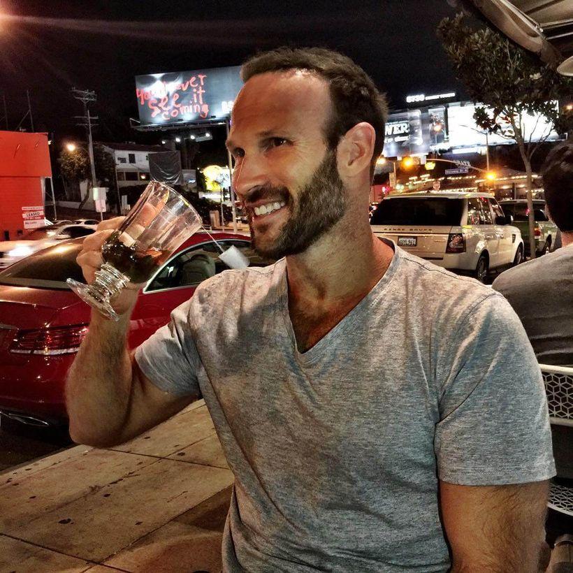 <em>Swanwick's alcohol-free Happy Hour on Sunset Boulevard.</em>