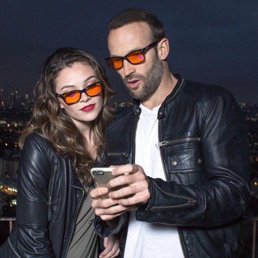 "<em>Wearing the </em><a rel=""nofollow"" href=""http://www.swanwicksleep.com/products/swannies-blue-light-blocking-glasses"" targ"