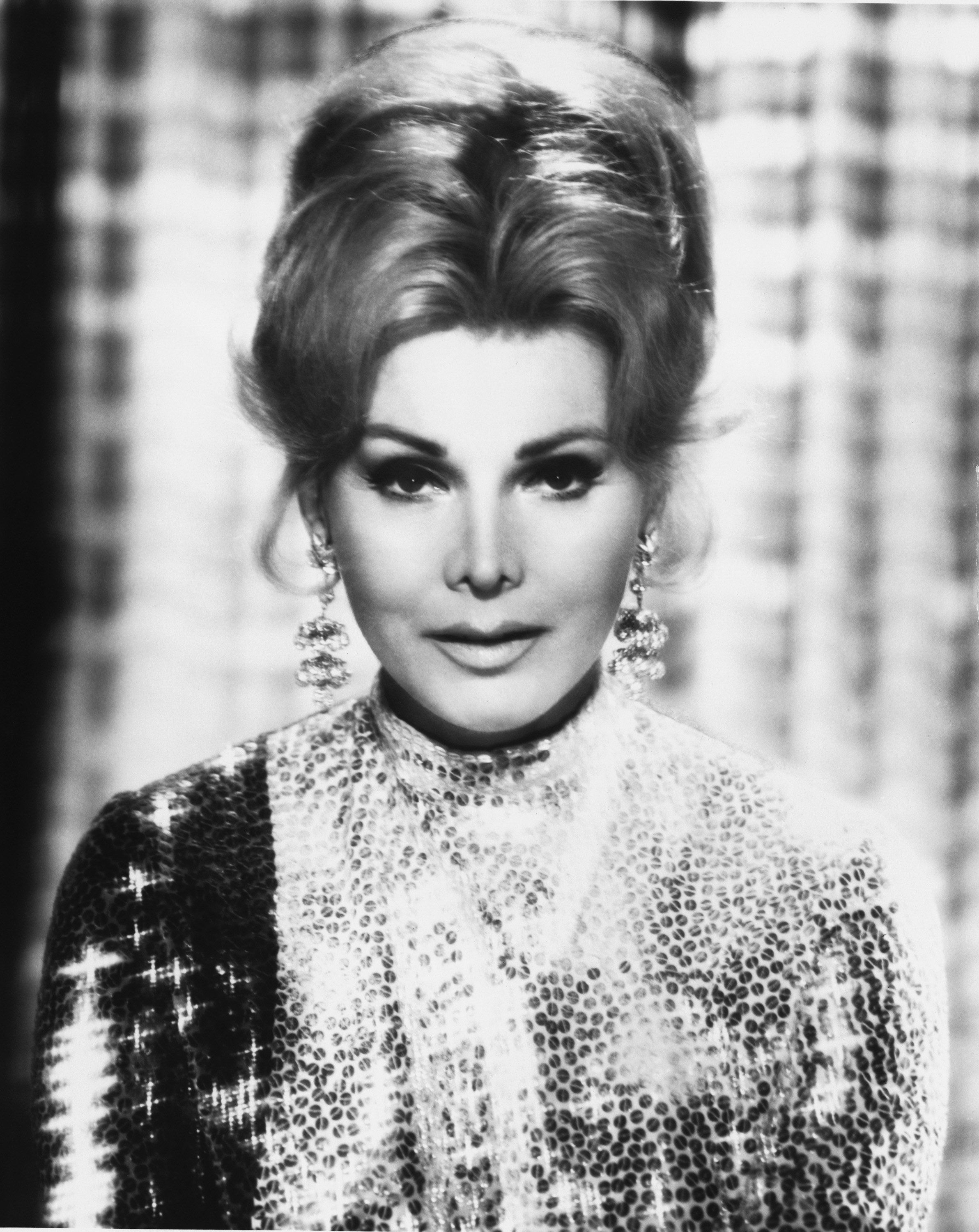 NAME DROPPERS -- Air Date 10/27/1969 -- Pictured: Actress Zsa Zsa Gabor -- Photo by: NBCU Photo Bank