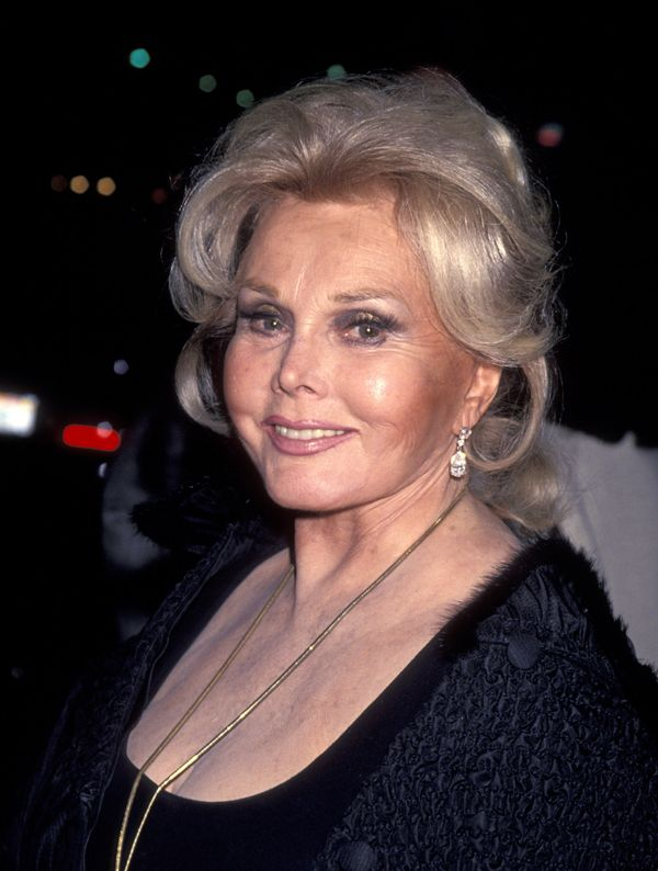 Gabor photographed in 1993. This is one of her most memorable statements.