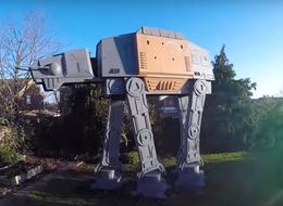 This Star Wars: Rogue One AT-ACT Playhouse Is One Dad's Ultimate Gift For His Son