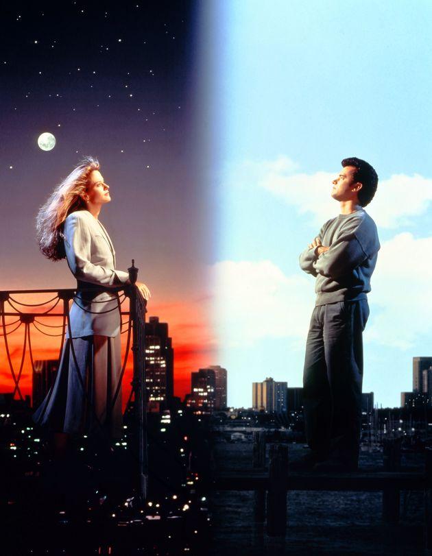Meg Ryan and Tom Hanks in 'Sleepless In