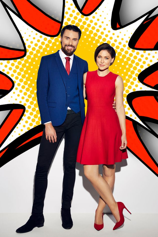 Rylan Clark-Neal and Emma Willis are back on hosting