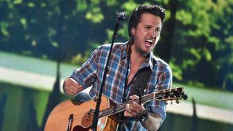 NASHVILLE, TN - JUNE 06:  Recording artist Luke Bryan performs onstage during the 2016 CMT Music Awards - Rehearsals Day 1 at Bridgestone Arena on June 6, 2016 in Nashville, Tennessee.  (Photo by Mike Coppola/Getty Images for CMT)