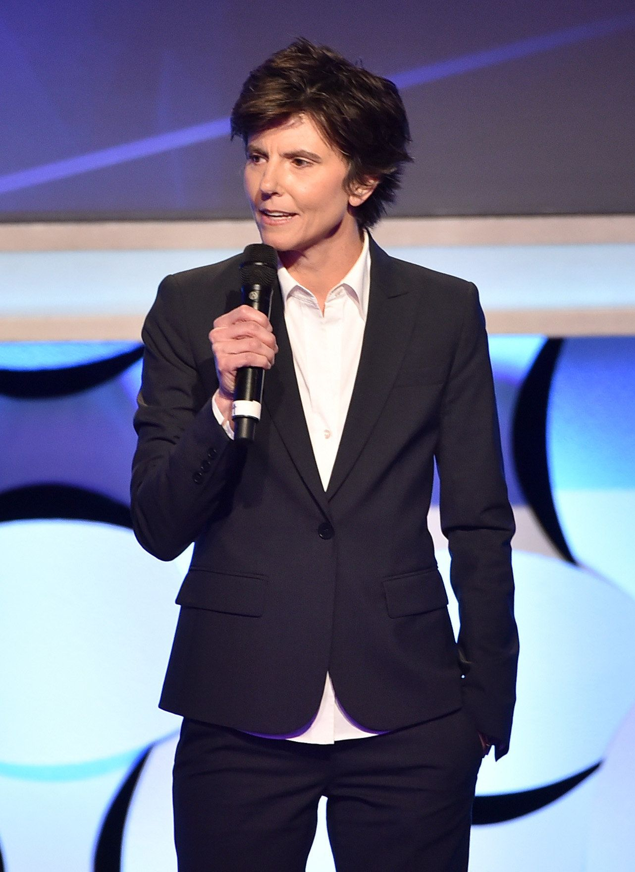 BEVERLY HILLS, CA - MARCH 21:  Comedian and host Tig Notaro onstage during the 26th Annual GLAAD Media Awards at The Beverly Hilton Hotel on March 21, 2015 in Beverly Hills, California.  (Photo by Kevin Winter/Getty Images for GLAAD)