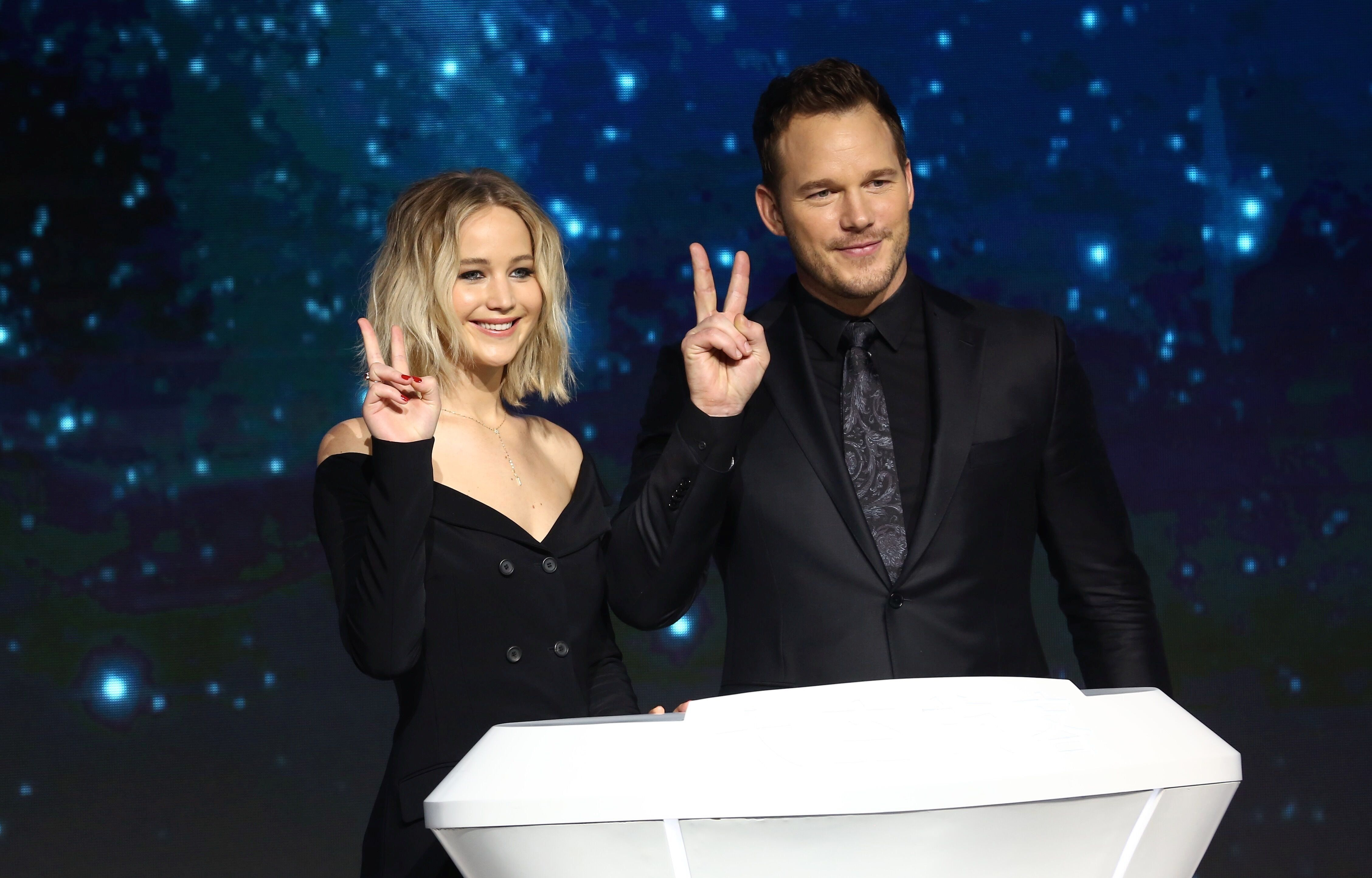 Jennifer Lawrence And Chris Pratt Want To Do A Superhero
