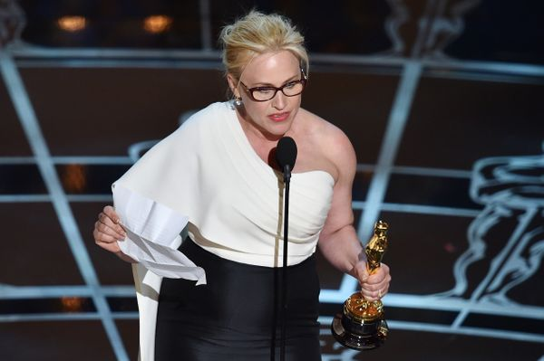 "In January, actress Patricia Arquette won the Oscar for Best Supporting Actress for her performance in ""Boyhood,"" and used he"