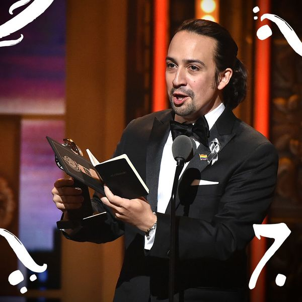 Lin-Manuel Miranda accepted his Tony Award in June with an emotional tribute to the 49 people who died at the Pulse nightclub