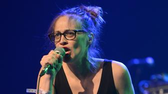 LOS ANGELES, CA - DECEMBER 18:  Singer Fiona Apple performs onstage during the 'We Rock with Standing Rock' benefit concert at The Fonda Theatre on December 18, 2016 in Los Angeles, California.  (Photo by Scott Dudelson/Getty Images)