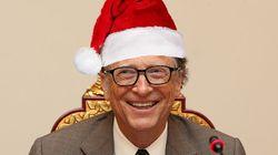 Bill Gates Is Officially The Best Secret Santa Of