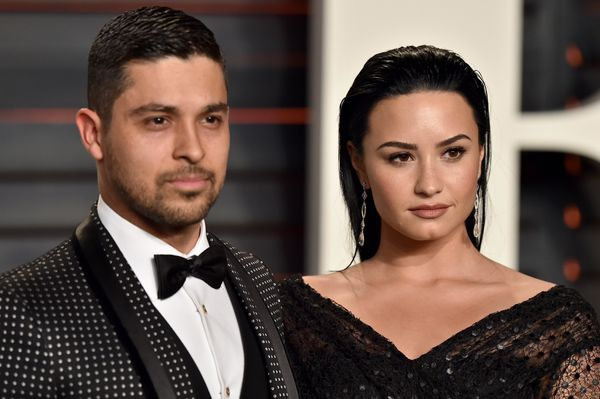 "Young lovebirds Lovato and Valderrama decided to <a href=""https://www.huffpost.com/entry/demi-lovato-and-wilmer-valderrama-sp"